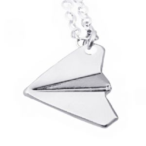 One Direction Harry's Paper Airplane Pendant Necklace Chian Pop Hot Gift